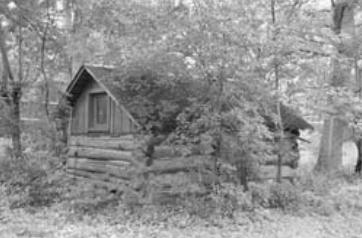 Fur trapper's cabin late 1700s