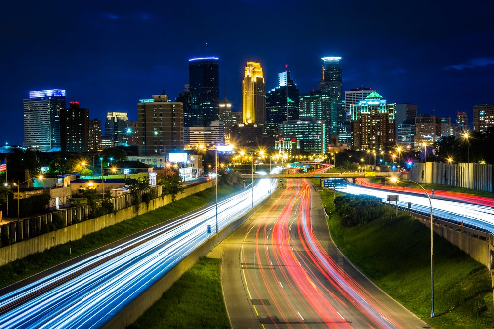 Minneapolis, Minnesota Skyline