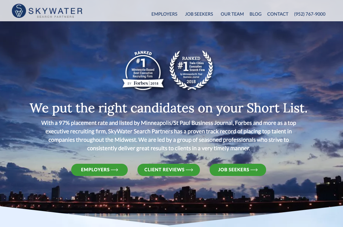 skywater new homepage